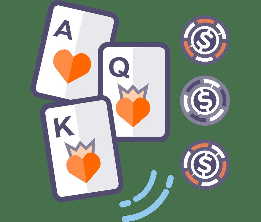 Играйте Покер с три карти онлайн – Топ 41 Онлайн Казиноа, плащащи най-много за 2021 г.
