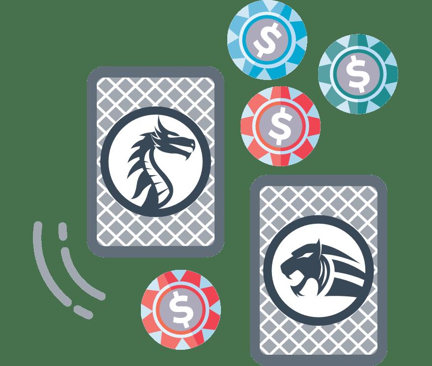 Играйте Dragon Tiger онлайн – Топ 41 Онлайн Казиноа, плащащи най-много за 2021 г.
